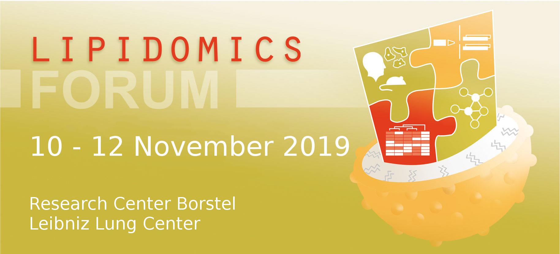 LipidomicsForum Banner 2019